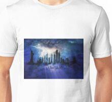 New York City at night Unisex T-Shirt