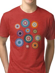 April Flowers Tri-blend T-Shirt