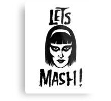 Goth Chic, Let's Mash Metal Print