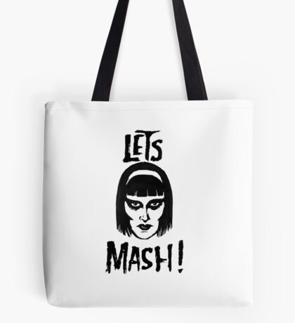 Goth Chic, Let's Mash Tote Bag