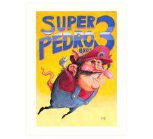 Super Mario / Super Pedro Nintendo Art Print