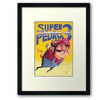 Super Mario / Super Pedro Nintendo Framed Print