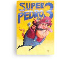 Super Mario / Super Pedro Nintendo Metal Print