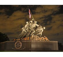 United States Marine War Memorial Photographic Print