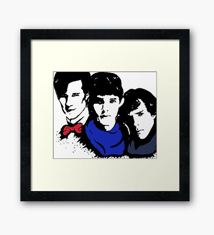 The BBC is Ruining My Life Framed Print
