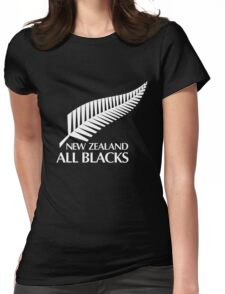 New Zealand All Blacks  Womens Fitted T-Shirt