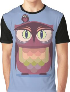 THE SAT UPON OWL Graphic T-Shirt