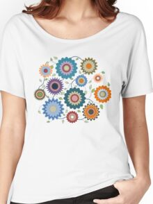 April Flowers with Branches Women's Relaxed Fit T-Shirt