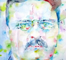 THEODORE ROOSEVELT - watercolor portrait by lautir