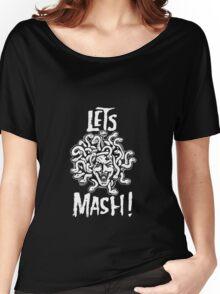 Medusa, Let's Mash! Women's Relaxed Fit T-Shirt