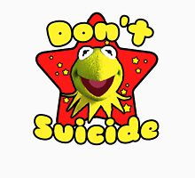 don't suicide meme Women's Fitted Scoop T-Shirt
