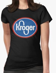 kroger Womens Fitted T-Shirt