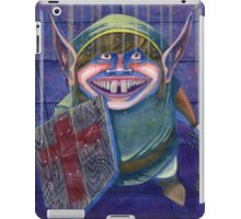 Zelda Link in a Dungeon Nintendo iPad Case/Skin