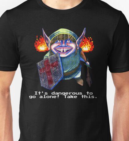 Zelda Link in a Dungeon Nintendo Unisex T-Shirt