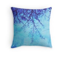Sky Tree Throw Pillow