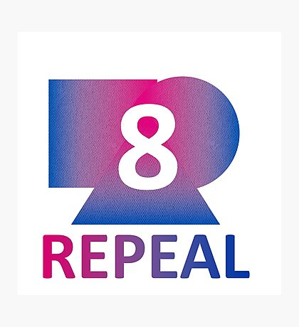 Bi Repeal the 8th Amendment Photographic Print