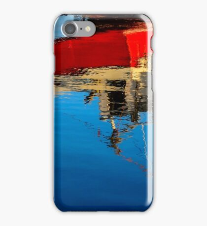 Reflection of a Fishing Boat iPhone Case/Skin