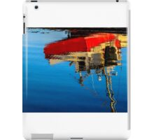 Reflection of a Fishing Boat iPad Case/Skin