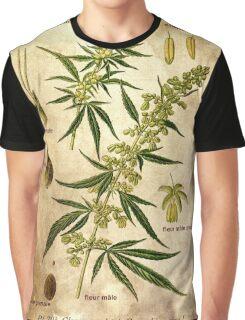Marihuana plant Graphic T-Shirt