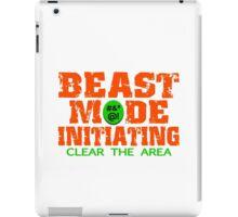 Beast Mode Initiating iPad Case/Skin