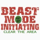 Beast Mode Initiating by FireFoxxy