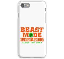 Beast Mode Initiating iPhone Case/Skin