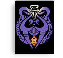 Voodoo Walrus Sigil Canvas Print