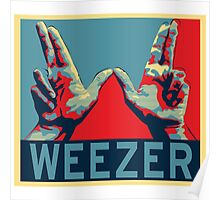 weezer classic poster dolly Poster
