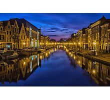 Holland Canals Photographic Print