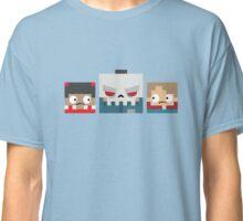 Slayaway Camp - Square Killer and Victims Classic T-Shirt
