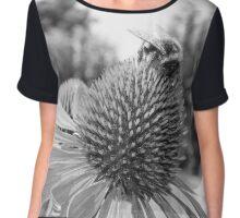 Echinacea Chiffon Top