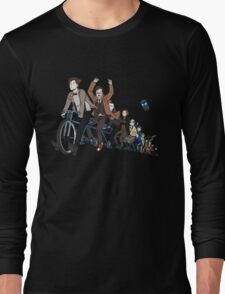 11 Doctors on a bike Long Sleeve T-Shirt