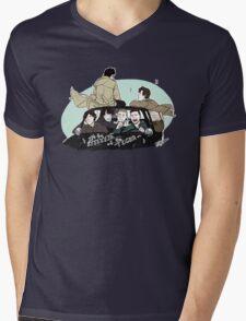 Superwholock Mens V-Neck T-Shirt