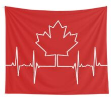 Canada Pulse Wall Tapestry