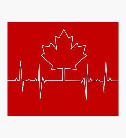 Canada Pulse Photographic Print