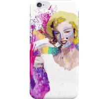 Painted Marilyn iPhone Case/Skin