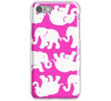 Pink Elephants iPhone Case/Skin