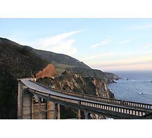 Pacific Coast Highway Photographic Print