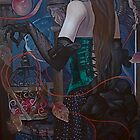 """Time Catcher""(original is in private collection) by Tatyana Binovskaya"