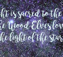 Light Of The Stars  Sticker