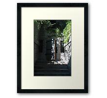 Gallows Entrance  Framed Print