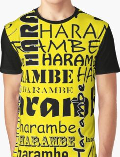 Harambe shirt (for the gorilla who died) Graphic T-Shirt