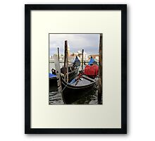 Boat Station Framed Print