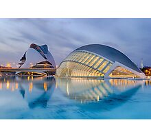 City of Arts and Science in Valencia Spain Photographic Print
