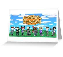 Creature Crossing Greeting Card