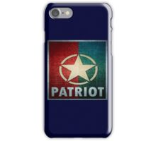 Logo - Patriot iPhone Case/Skin