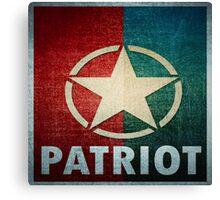 Logo - Patriot Canvas Print