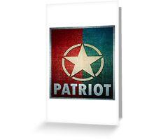Logo - Patriot Greeting Card