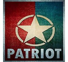 Logo - Patriot Photographic Print