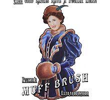 Pucker's Muff Brush Extraordinaire by KEIJAN